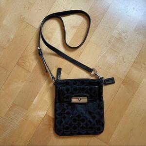 Coach Kristin Op Art Swingpack Crossbody Bag
